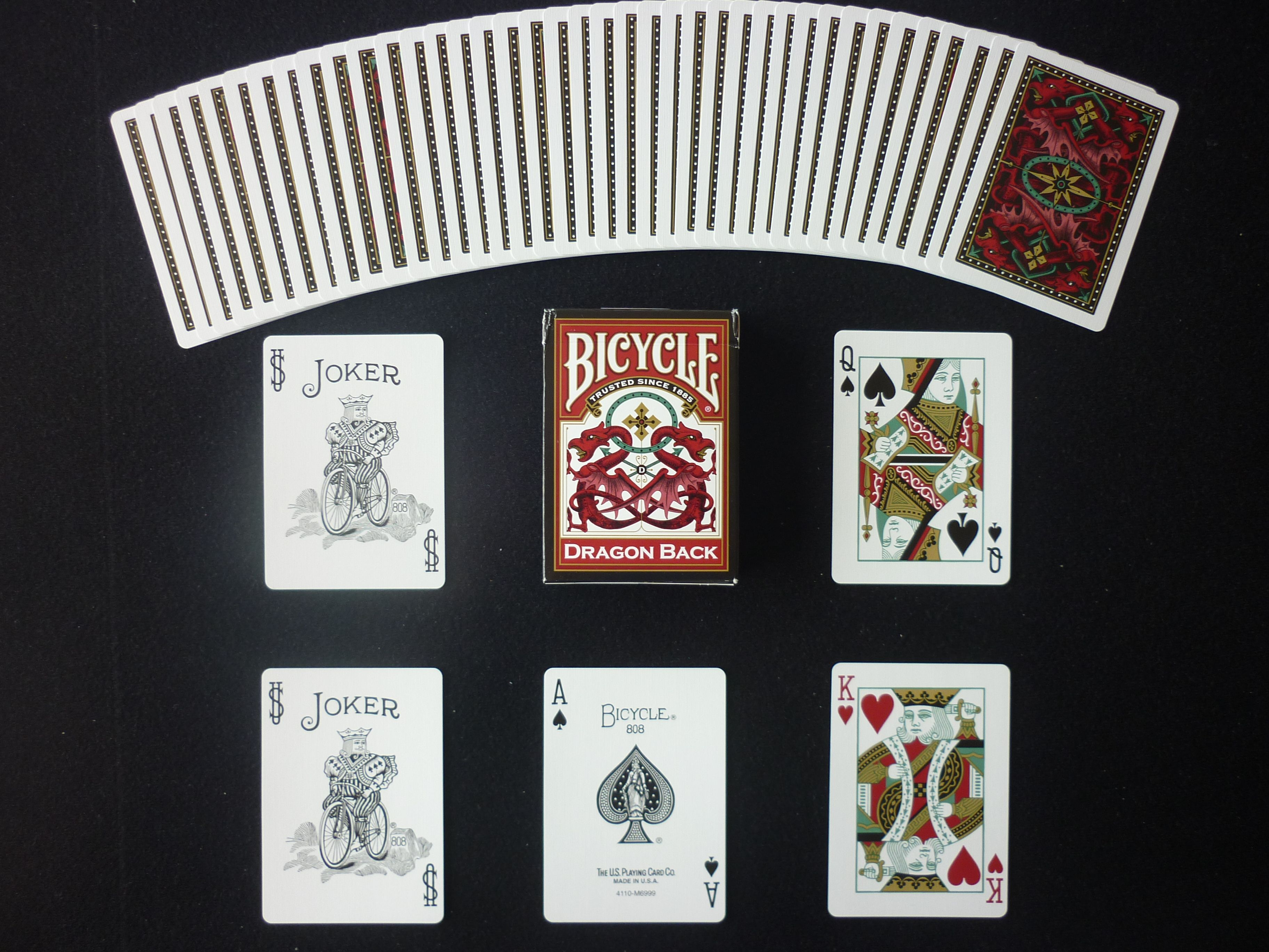 Evolution Red Playing Cards Deck Brand New