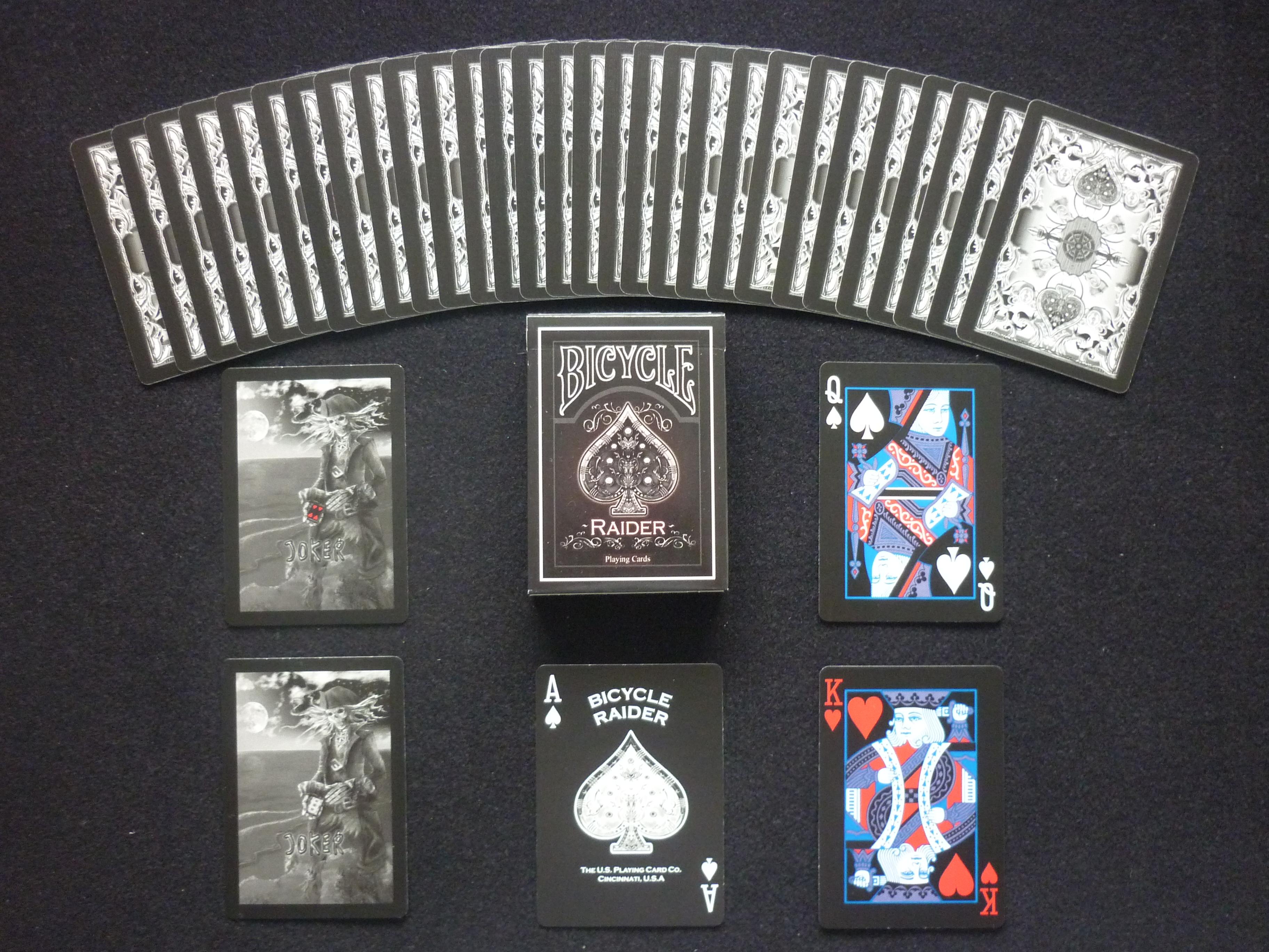 raider playing cards wiki