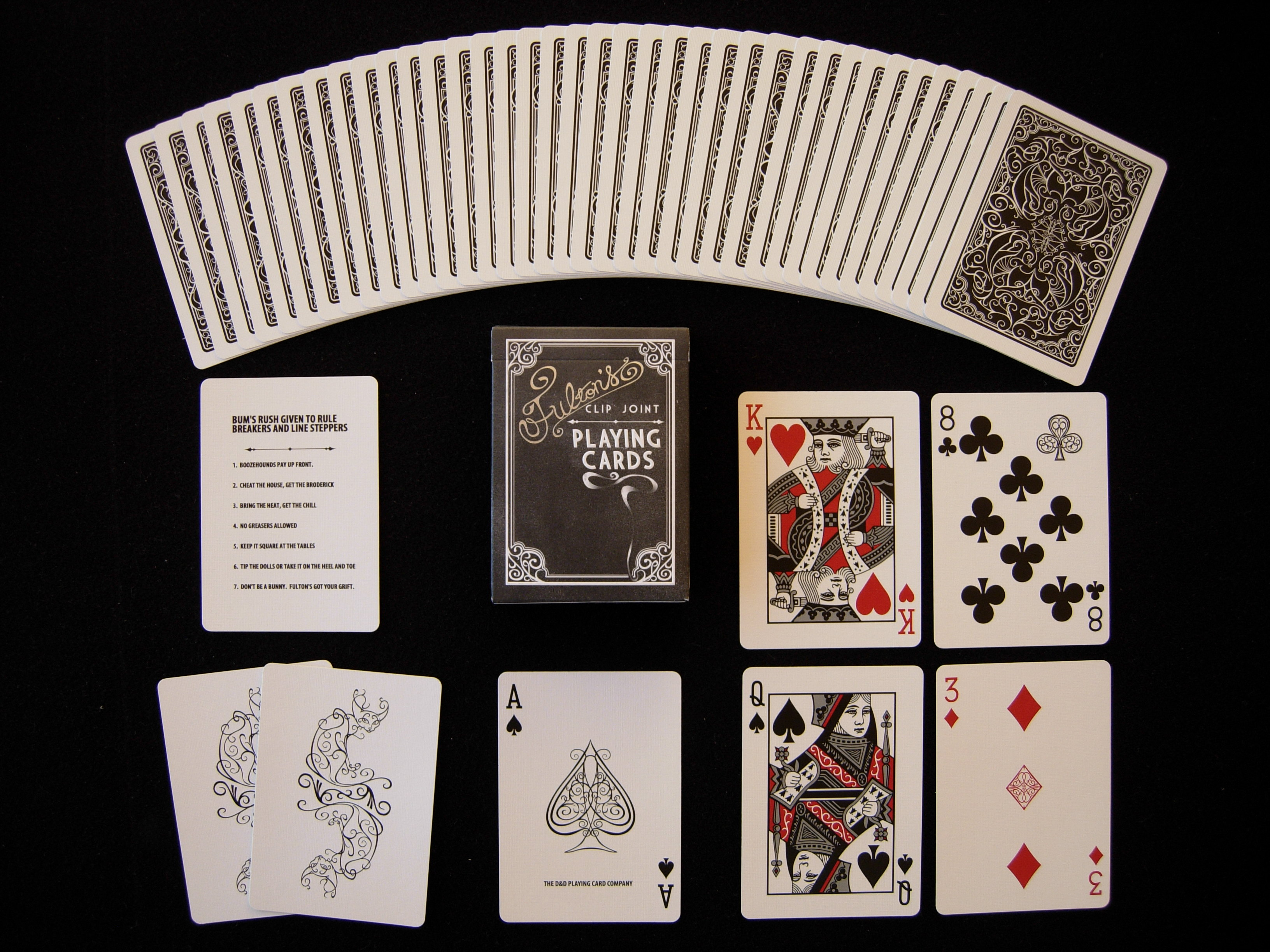 Fulton's casino deck