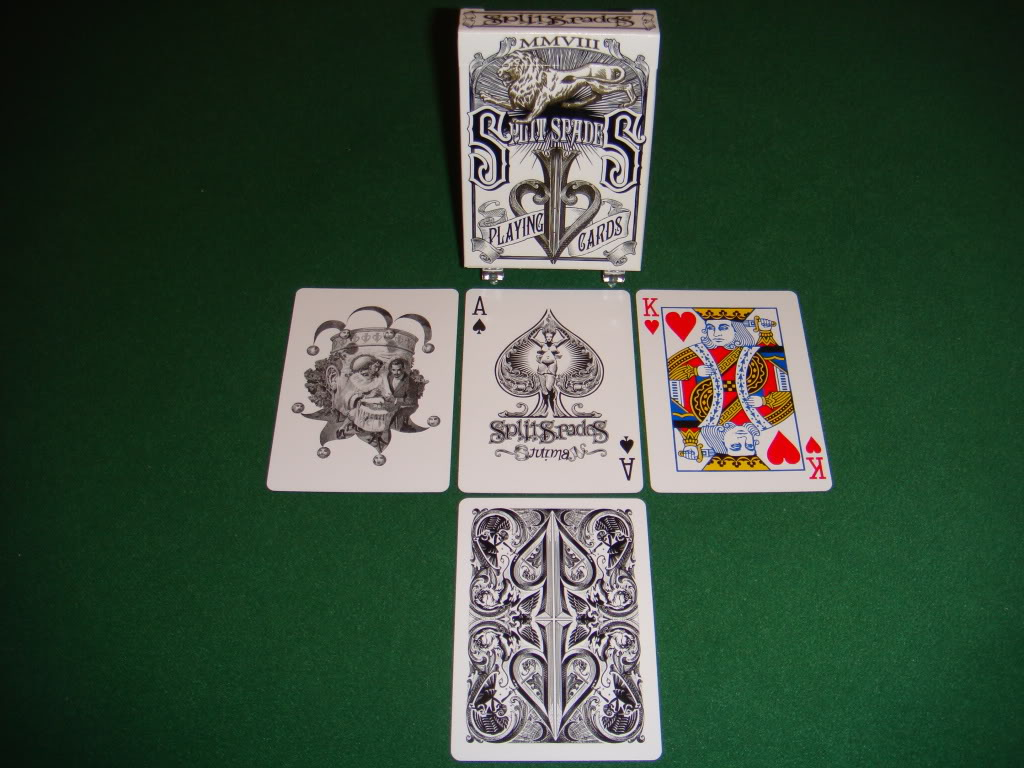 Black Lions Playing Cards Deck Blue Color Brand New Sealed